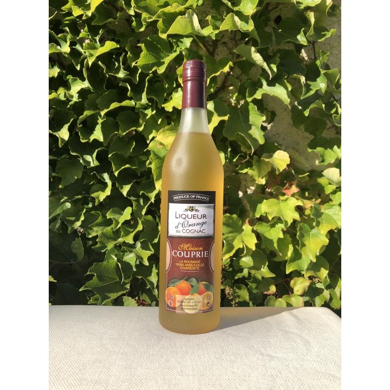 Cognac Couprie Orange Liqueur with Cognac