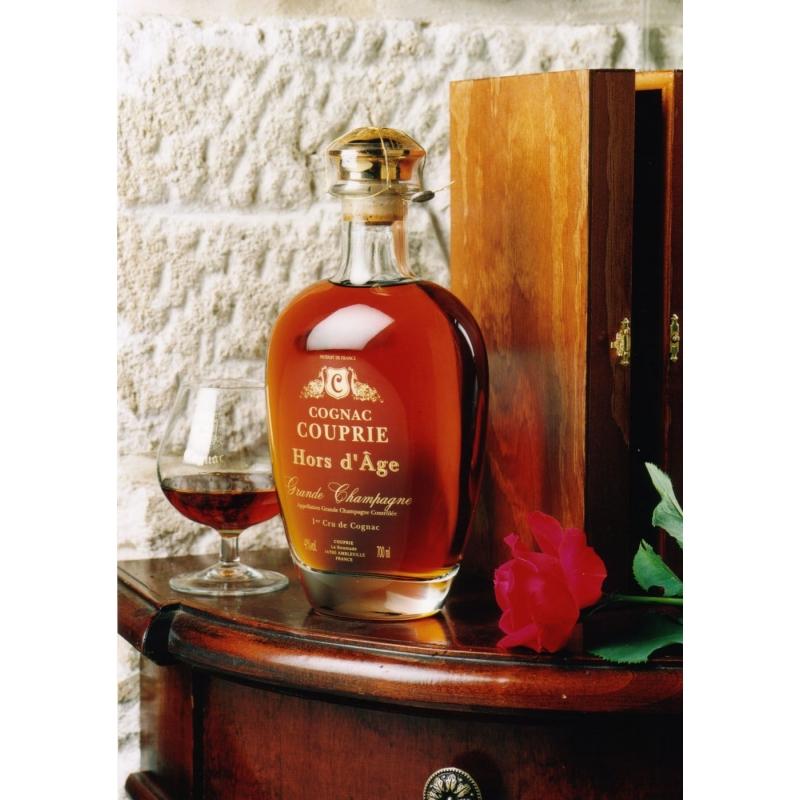 Cognac Couprie, Hors d'Age, Decanter